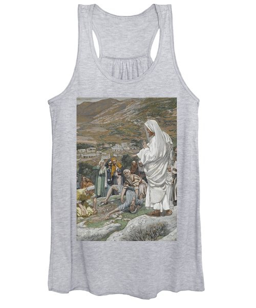 The Possessed Boy At The Foot Of Mount Tabor Women's Tank Top