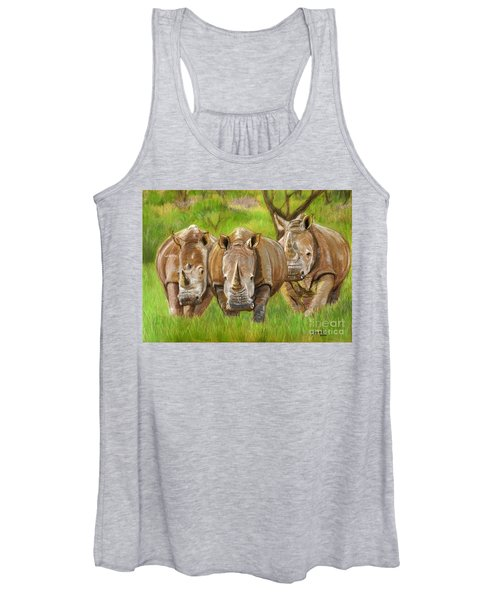 The Power In Three Women's Tank Top