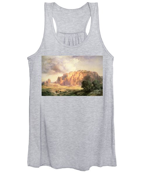 The Pueblo Of Acoma In New Mexico Women's Tank Top