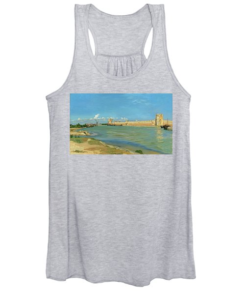 The Ramparts At Aigues Mortes Women's Tank Top