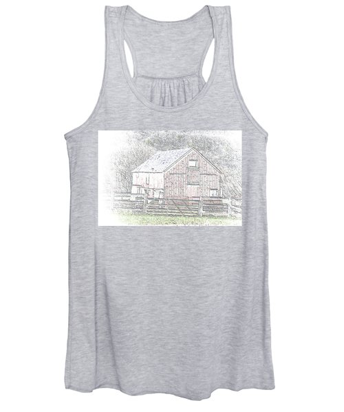 The Red Barn Women's Tank Top