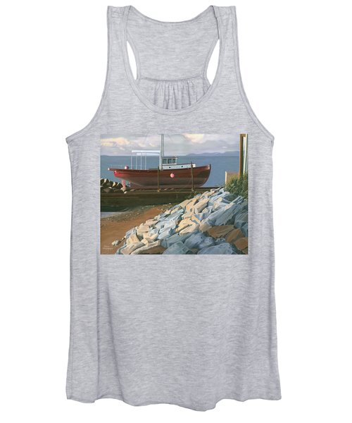 The Red Troller Revisited Women's Tank Top