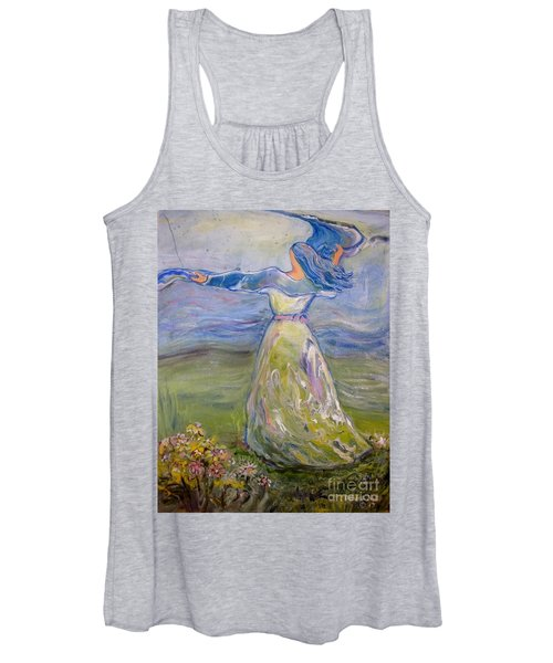 The River Is Here Women's Tank Top