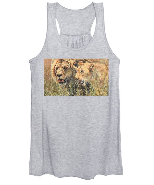 The Royal Couple II Women's Tank Top