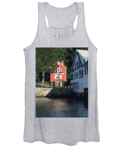 The Sacred Cod And Beacon Marine Women's Tank Top