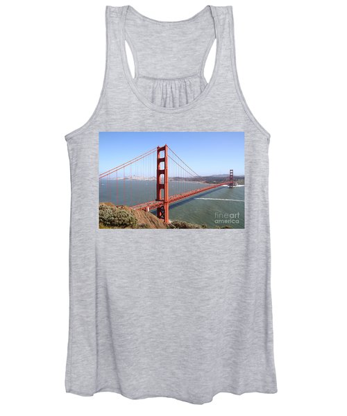 The San Francisco Golden Gate Bridge 7d14507 Women's Tank Top