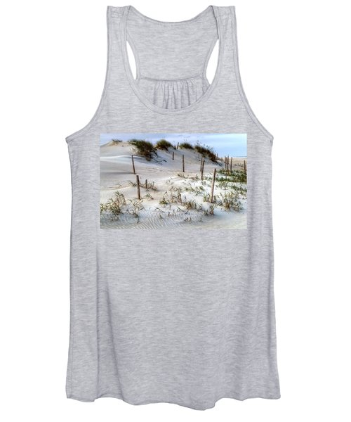 The Sands Of Obx Hdr II Women's Tank Top