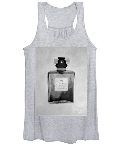 The Scent Black And White Women's Tank Top