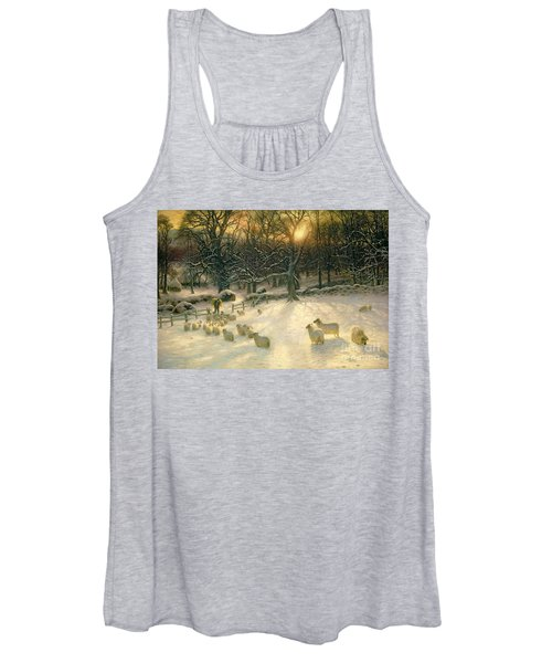 The Shortening Winters Day Is Near A Close Women's Tank Top