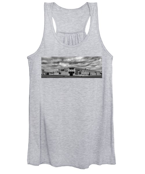 The Stone Pony Asbury Park New Jersey Black And White Women's Tank Top