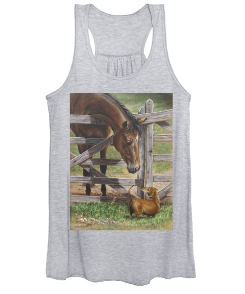 The Tall And Short Of It Women's Tank Top