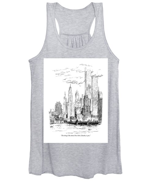 The Thing I Like About New York Women's Tank Top