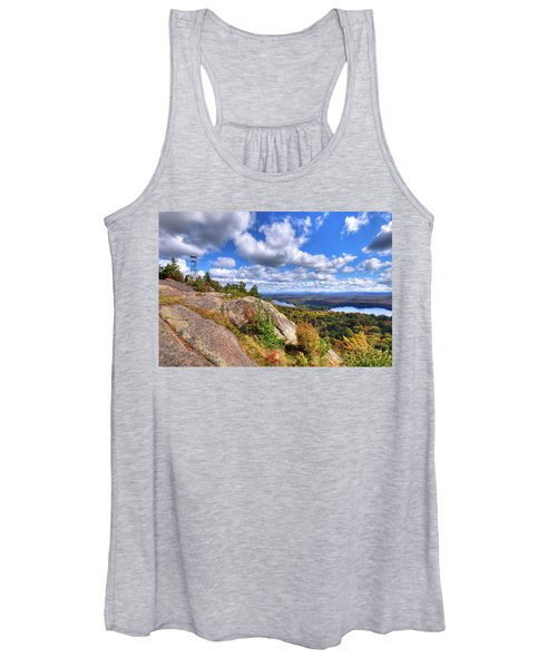 The Tower On Bald Mountain Women's Tank Top
