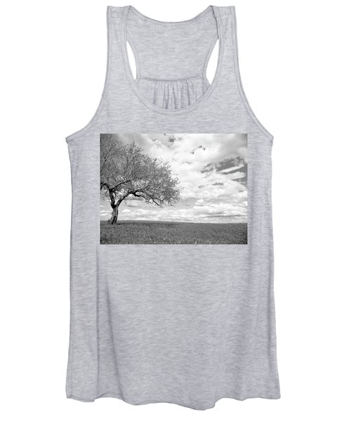 The Tree On The Hill Women's Tank Top
