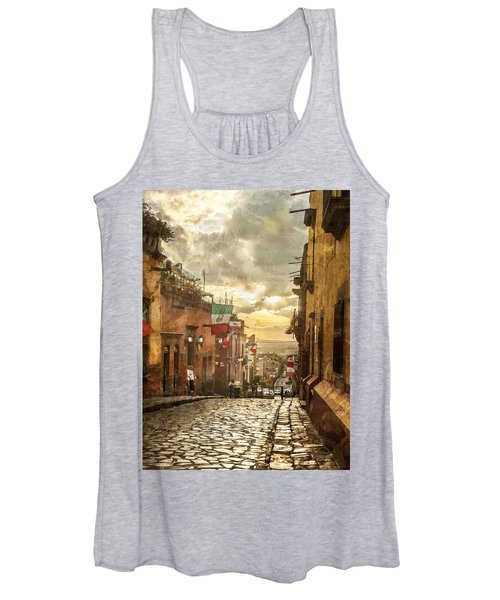 The View Looking Down Women's Tank Top