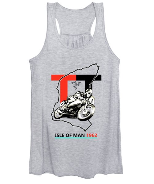 The Vintage Isle Of Man Tt Women's Tank Top
