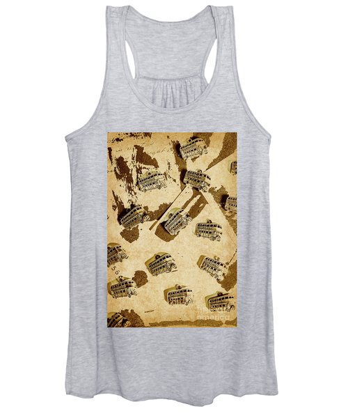 The Weathered Downtown Women's Tank Top