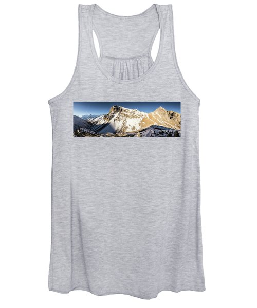 Thorung La Pass In The Annapurna Range In The Himalayas In Nepal Women's Tank Top