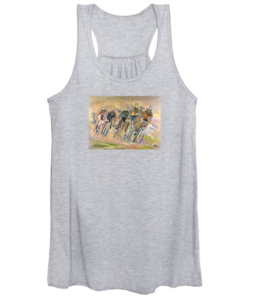 Thrill Of The Chase Women's Tank Top