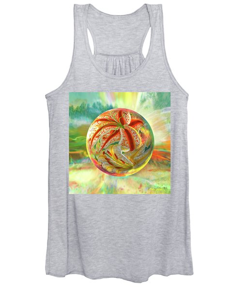 Tiger Lily Dream Women's Tank Top