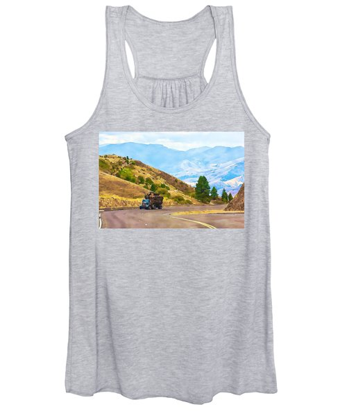 Timbers Truck In Idaho Women's Tank Top