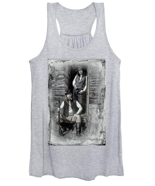 Tintype Portrait Reproduction Women's Tank Top