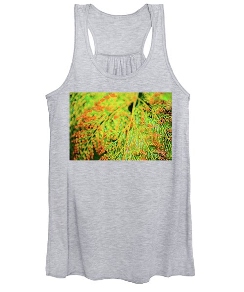 Tiny Flowers Blooming  Women's Tank Top