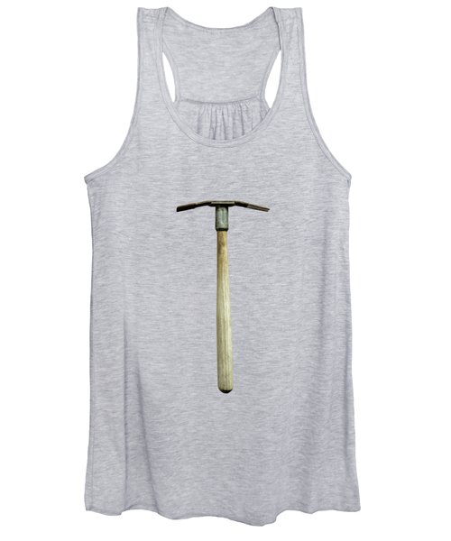 Tools On Wood 16 On Bw Women's Tank Top