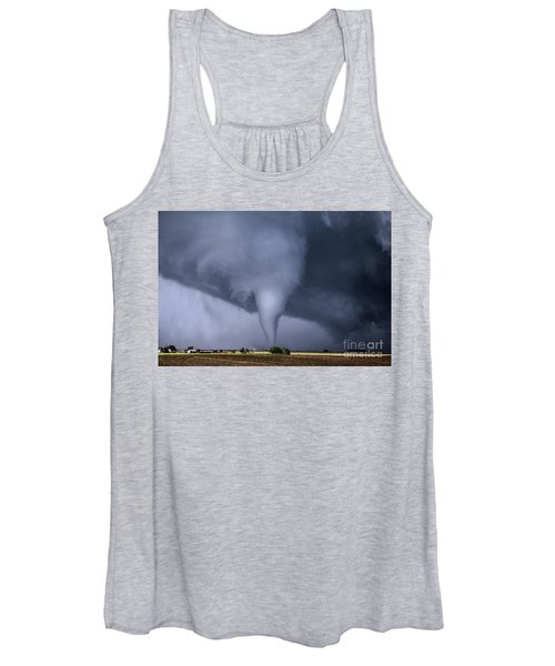 Tornado And House Women's Tank Top