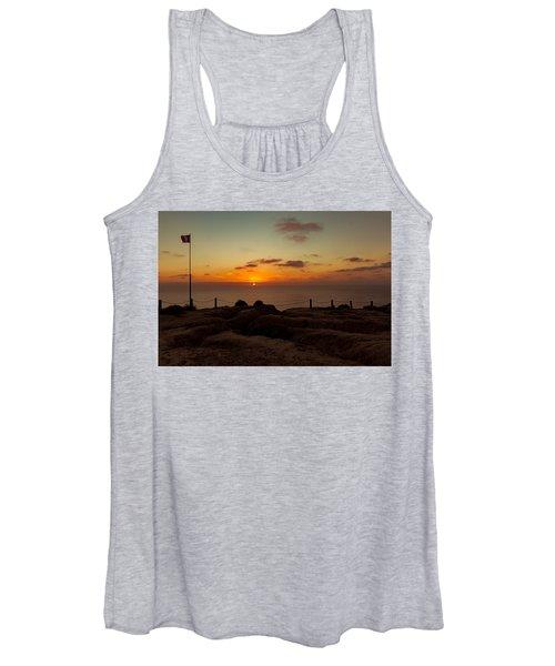 Torrey Pine Glider Port Sunset Women's Tank Top