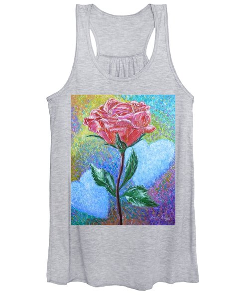 Touched By A Rose Women's Tank Top