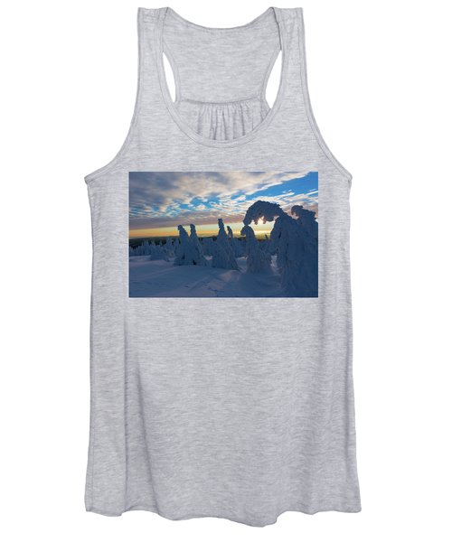 Touched From The Winter Sun Women's Tank Top