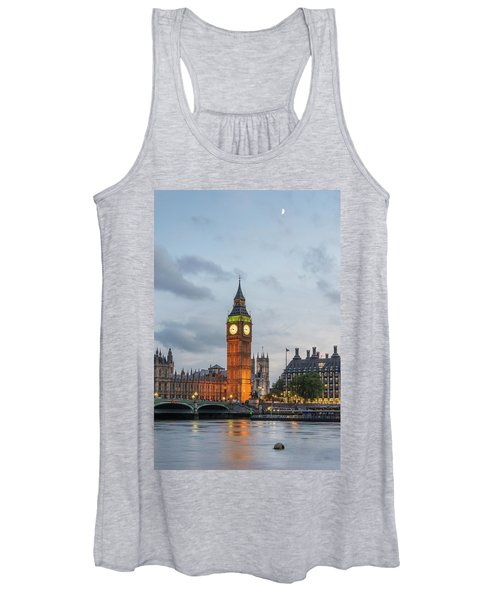Tower Of London In The Moonlight Women's Tank Top