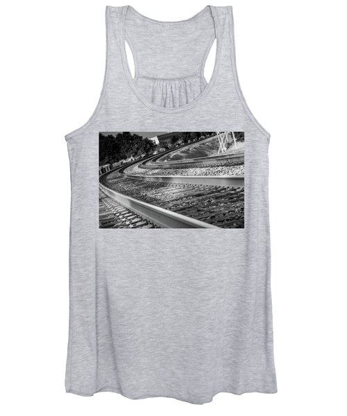 Tracks Through Historic Buford Women's Tank Top
