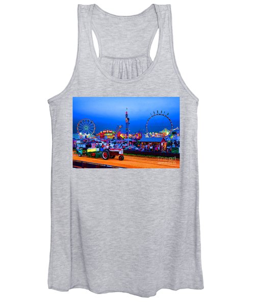 Tractor Pull At The County Fair Women's Tank Top