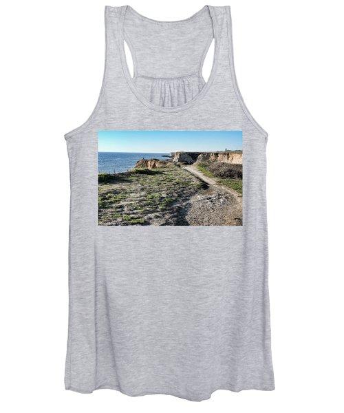 Trail On The Cliffs Women's Tank Top
