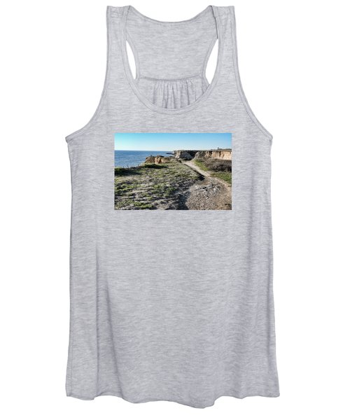 Trail On The Cliffs Women's Tank Top