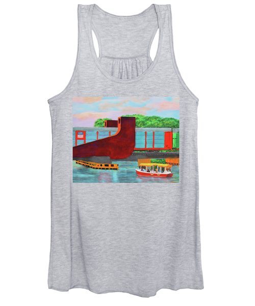 Train Over The New River Women's Tank Top