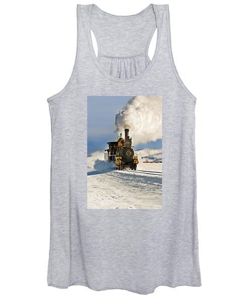 Train In Winter Women's Tank Top