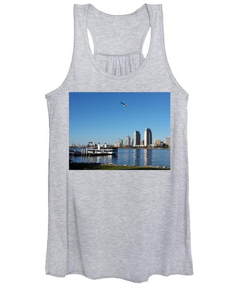 Tranquility By The Bay Women's Tank Top