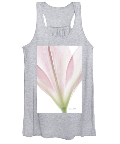 Transparent Lilly I Women's Tank Top
