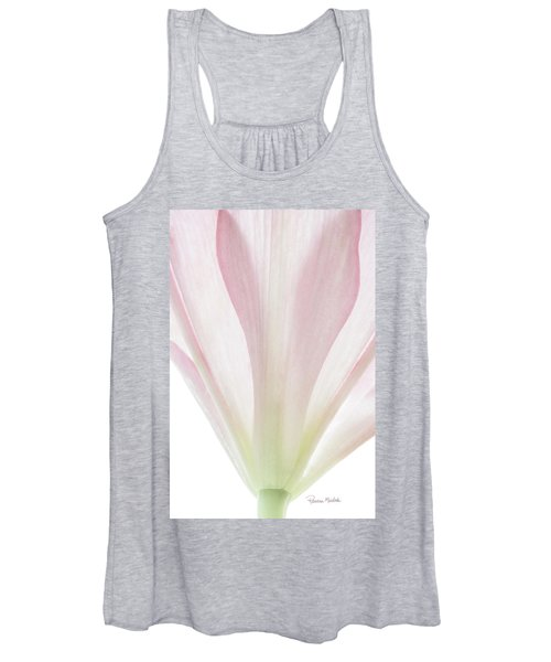 Transparent Lilly II Women's Tank Top