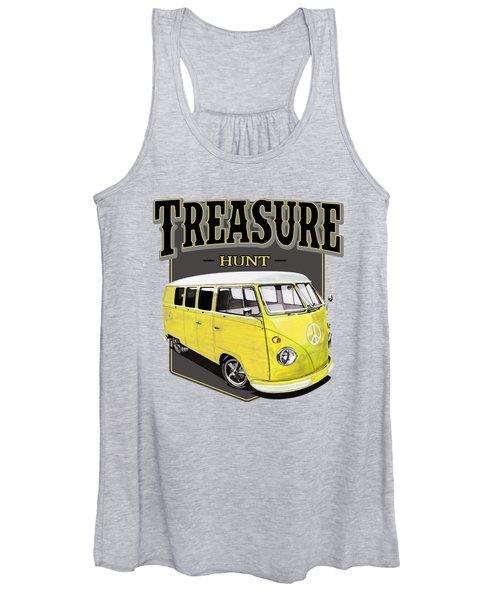 Treasure Hunt Bus Women's Tank Top