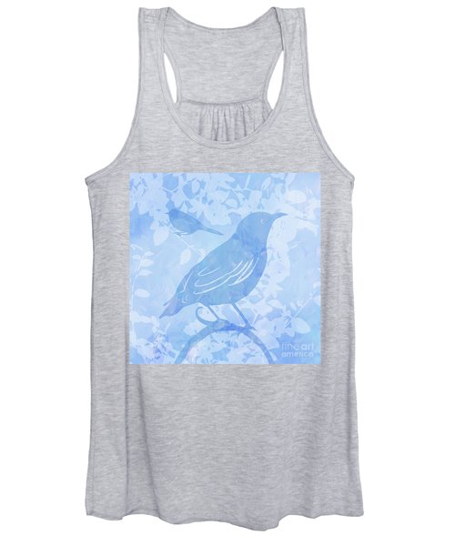 Tree Birds II Women's Tank Top