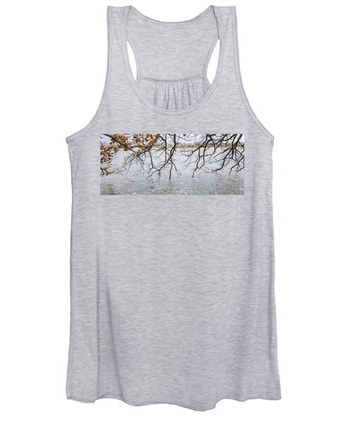 Tree Branches Over Lake Women's Tank Top