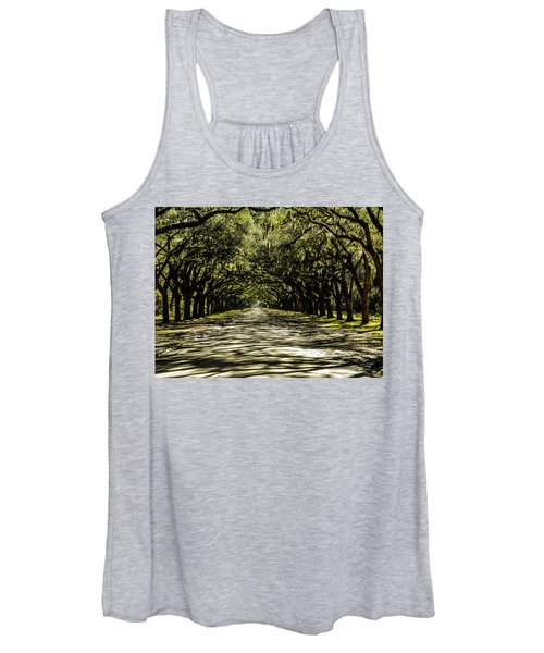 Tree Covered Approach Women's Tank Top