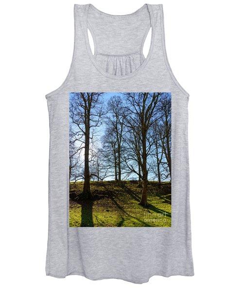 Tree Silhouettes Women's Tank Top