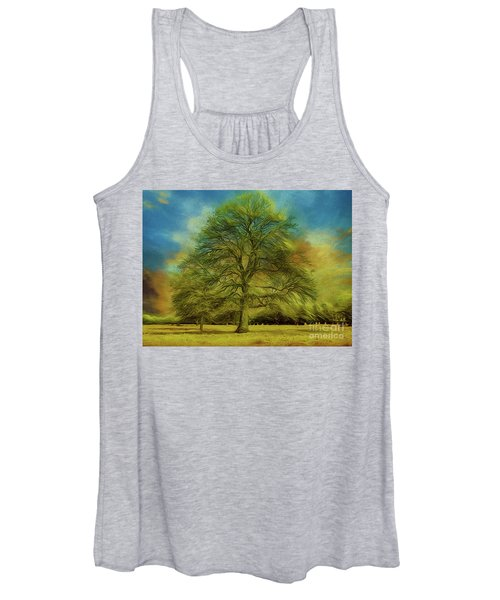 Tree Three Women's Tank Top