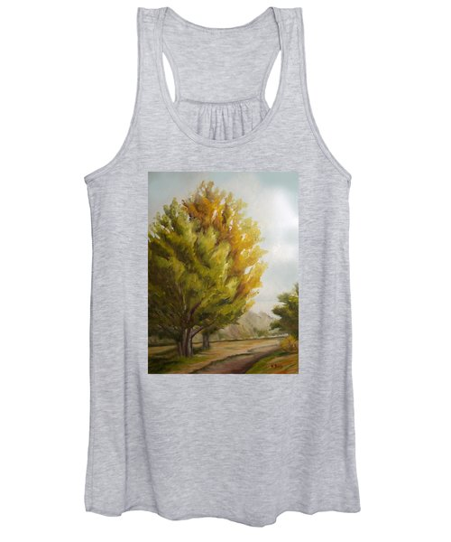 Trees In Boulder Women's Tank Top