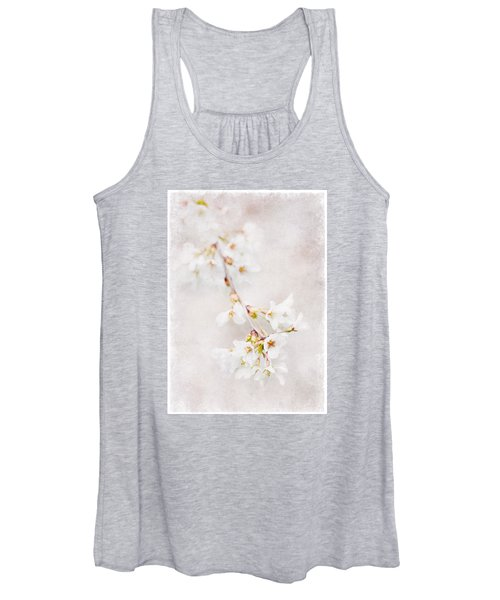 Triadelphia Cherry Blossoms Women's Tank Top